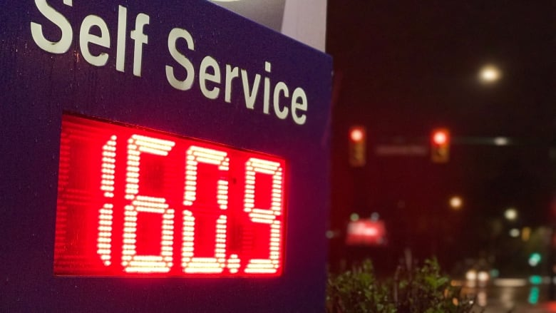 Gas prices hit record 160 9 cents per litre in Vancouver
