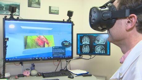 Virtual Reality surgery
