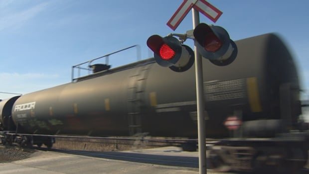 Crude-by-rail shipments expected to fall after setting record high in January | CBC News