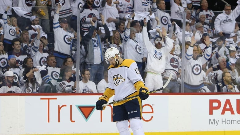 Predators Jump Out To Early Lead, But 'stop Playing' In Game 3 Loss To Jets