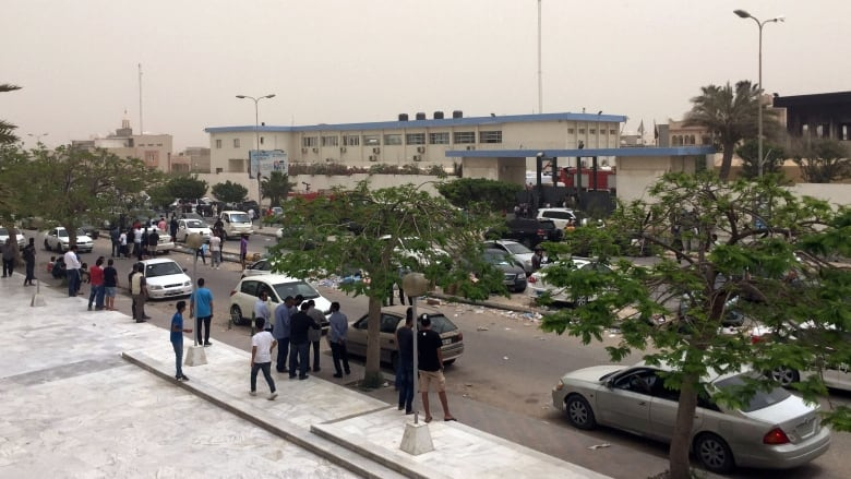 Several Dead After Attack On Libya's Electoral Commission Headquarters