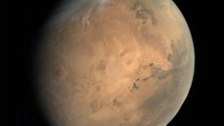 Mars Olympus Mons Valles Marineris