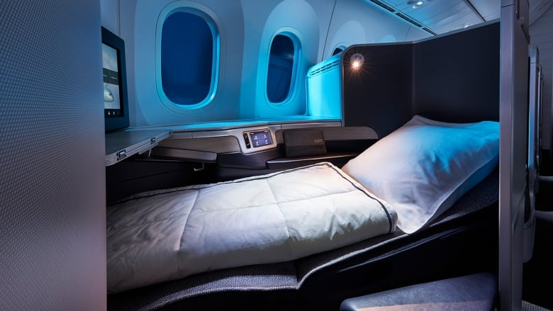 Air Canada S New Air Canada Signature Class Cabin On The
