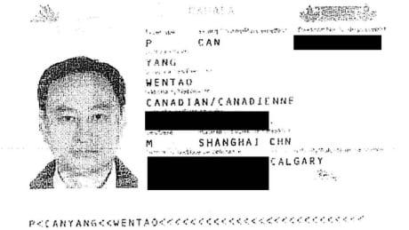 Wentao Yang passport from Panama Papers leak