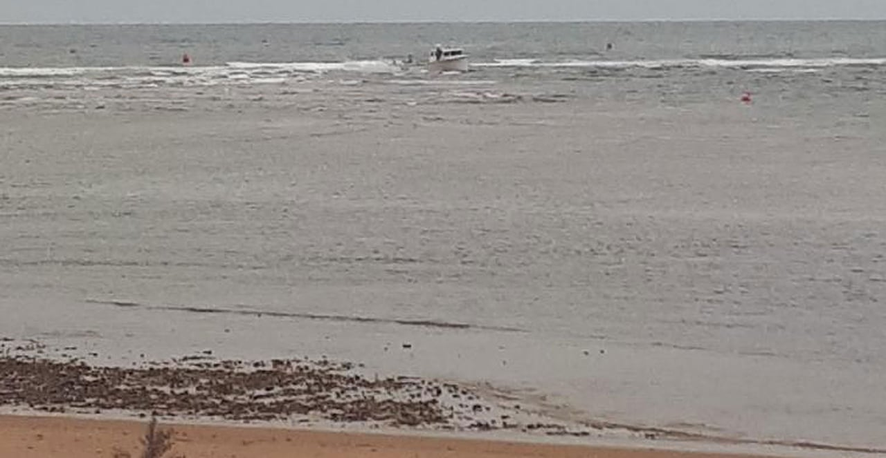 Another lobster boat gets stuck returning to Covehead