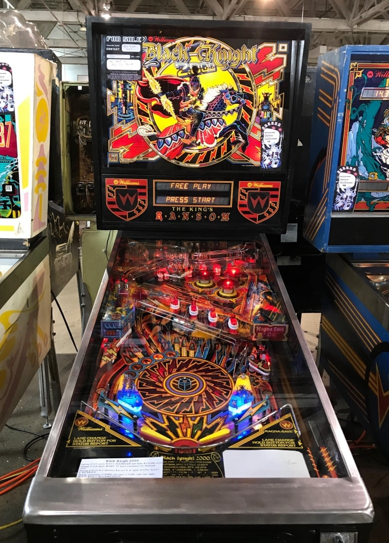 Back in time: Pinball machines increasingly popular with