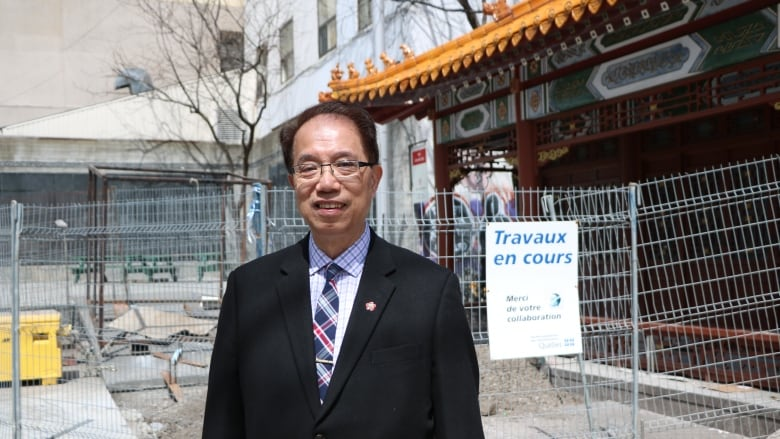 Wilson Wong President Of The Chinese Association Of Montreal Says Residents And Merchants In The Area