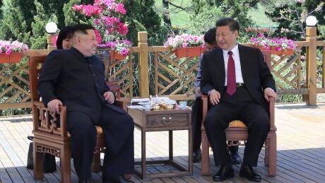 APTOPIX China North Korea