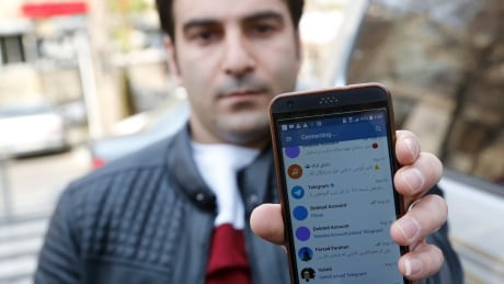 IRAN GOVERNMENT PROTEST SOCIAL MEDIA OONI story