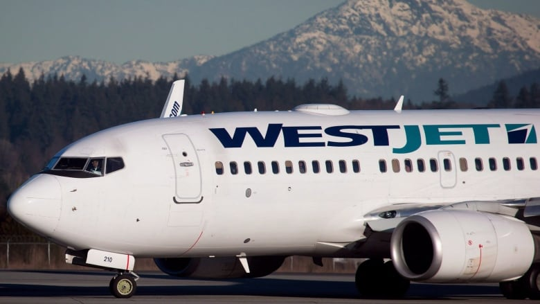 Sun Bound Travellers Grounded After Westjet Plane Makes Contact