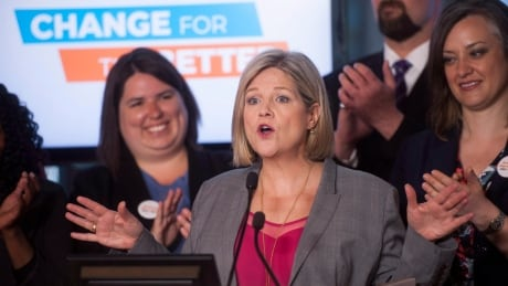NDP government would let LRT funds be used for other transit projects, Horwath says