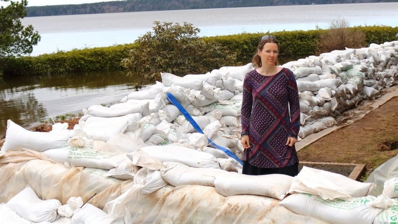 Homeowners Like Sharon Murphy Mayne Are Wondering Whatu0027s Going To Become Of  Hundreds Of Thousands Of Sandbags Now That The Floodwaters Are Receding.