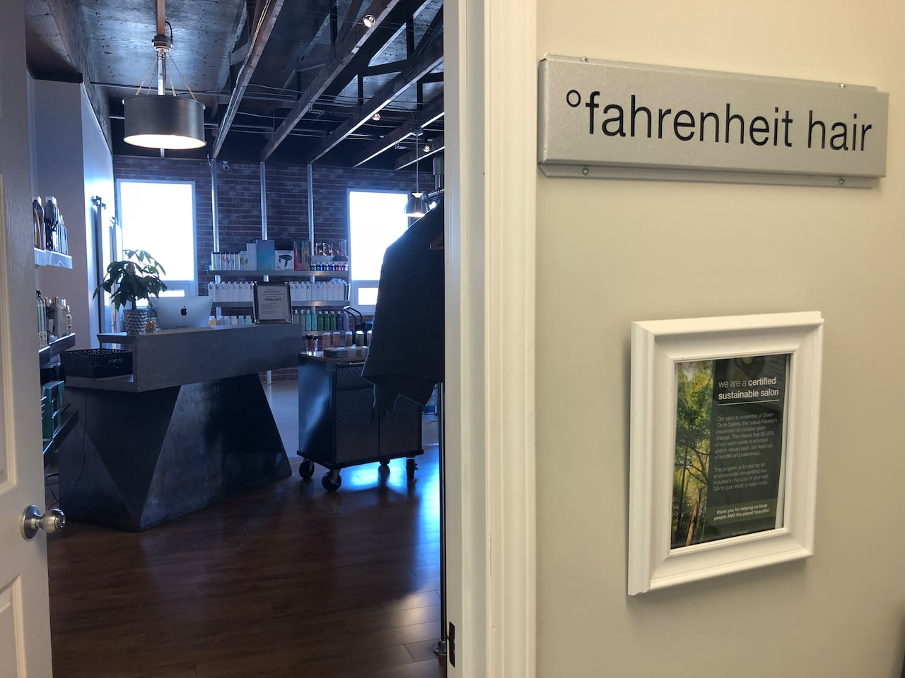 Going green is in style at Fahrenheit Hair | CBC News