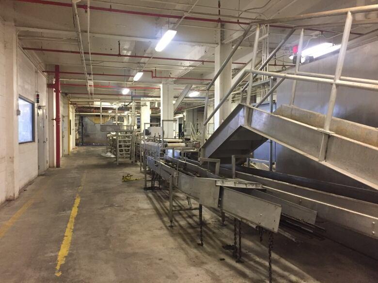 Weston Bakery factory machines Leslieville Toronto