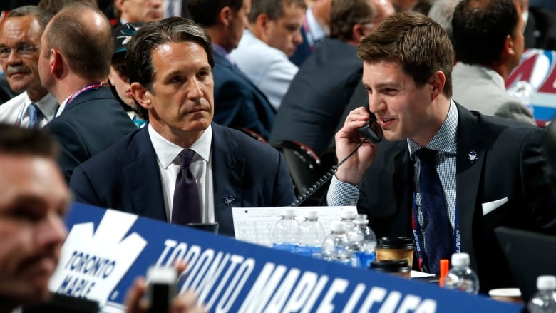 Maple Leafs promote Kyle Dubas, 32, to general manager