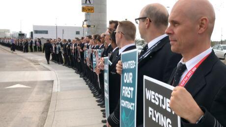 WestJet pilot strike