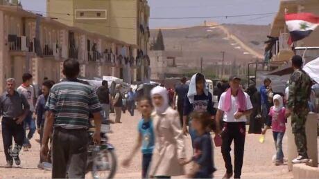 syria evans rant refugee camp