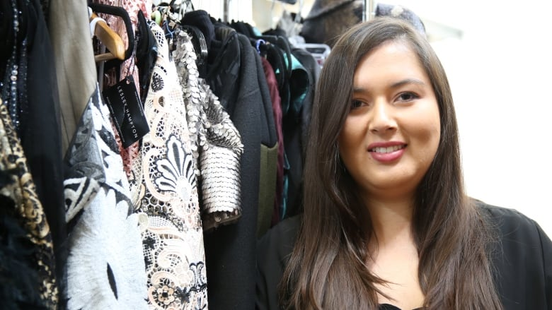 Toronto Based Designer To Present Lithium Collection At Indigenous Fashion Week Cbc News