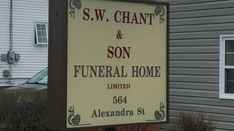 Chant's funeral home
