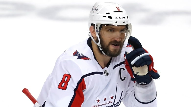 c1316d3be Alex Ovechkin had a goal and an assist as the Washington Capitals defeated  the Tampa Bay Lightning 4-2 in Game 1 of the Eastern Conference final.