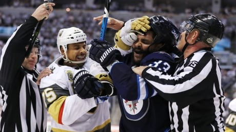 Jets' Dustin Byfuglien Poses Big Problem For Golden Knights