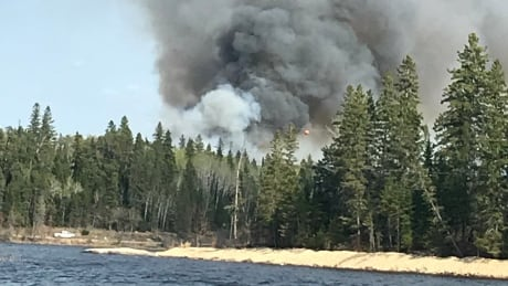 caddy lake fire 1