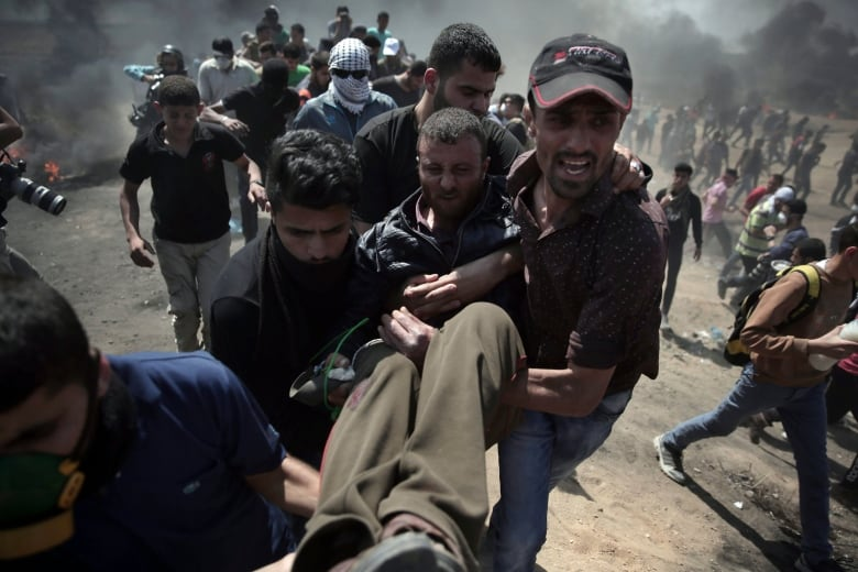 PE protesters join rage against Israel