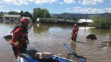 Flooding Search and Rescue Grand Forks