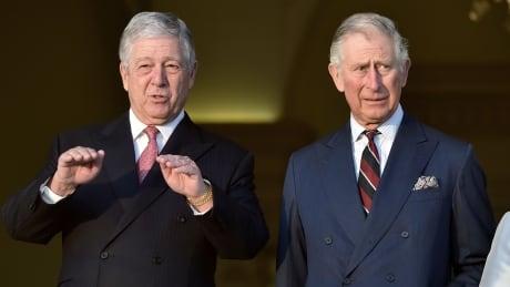 Prince Alexander and Prince Charles