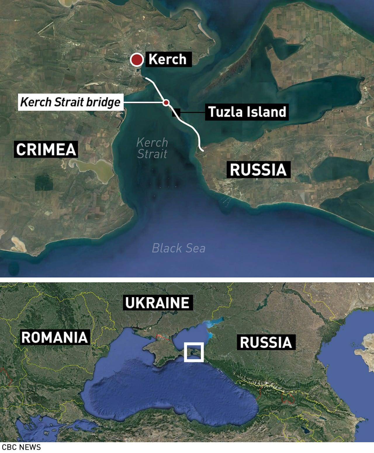 Image result for Kerch Strait Bridge in Crimea
