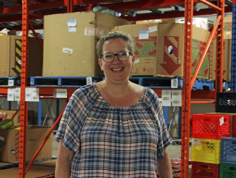 Wendi Campbell is the executive director of the Food Bank of Waterloo Region