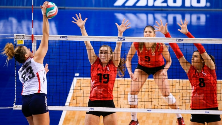 Watch the NORCECA women's volleyball Continental Nations