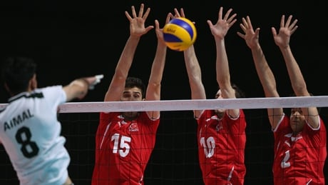 Watch the Canadian men's volleyball team take on Mexico
