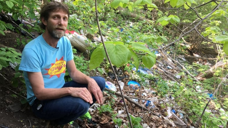 Lawrence Warriner, who has grown up running on the Don Valley's trails,  wants city hall to come up with a plan to restore areas that are currently  covered ...