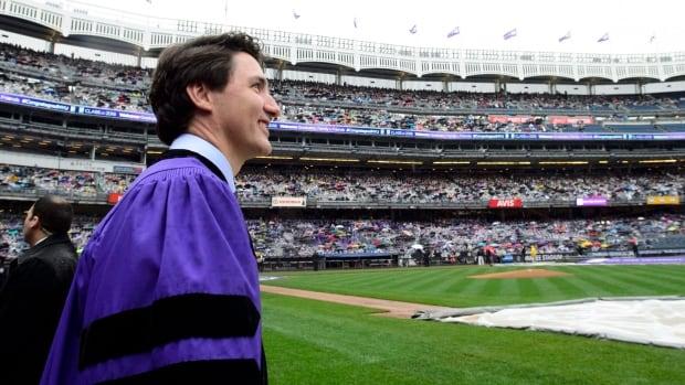 Trudeau uses NYU graduation speech to criticize growth in identity politics | CBC News
