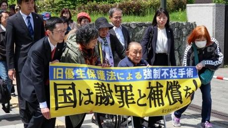 Japanese seniors sue government over forced sterilization program