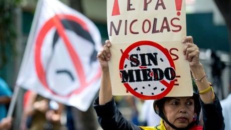 Venezuelas Opposition Protest