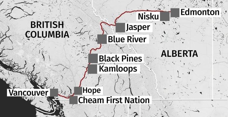 كندا - جديد قضية مد خط انبوب ترانس ماونتن في البرتا