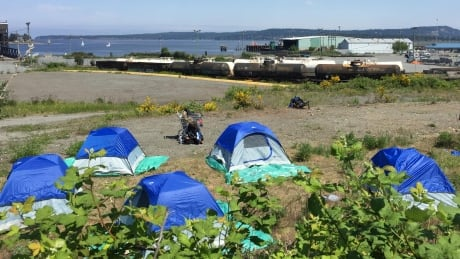 City of Nanaimo denied enforcement order in tent city dispute