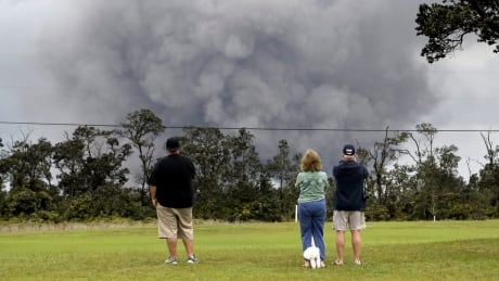 hawaii authorities take added safety measures as ash falls near erupting kilauea volcano