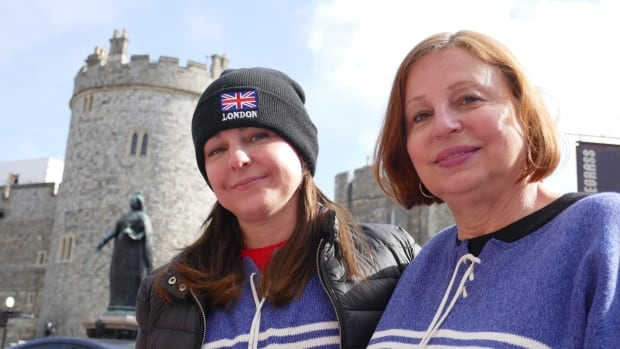 Meet the Canadians lining up along Harry and Meghan's carriage route outside Windsor Castle