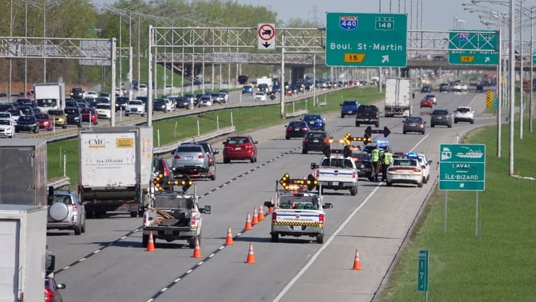 Motorcyclist dies after crash on Highway 13 in Laval