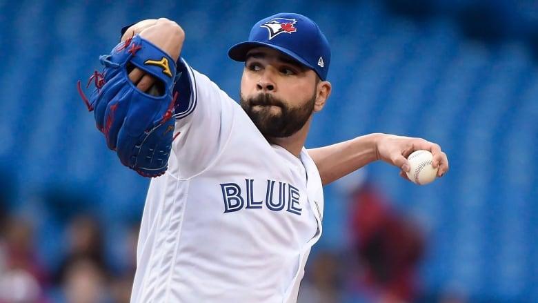 68393c578ed Blue Jays starter Jaime Garcia is on the disabled list because of  inflammation in his left shoulder. (Nathan Denette Canadian Press)