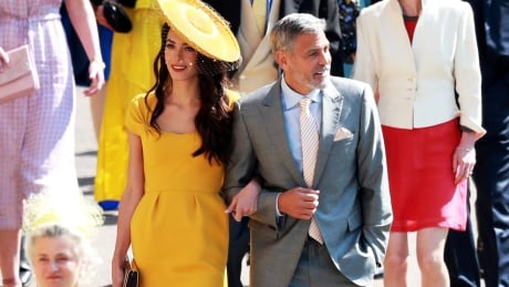 Celebrity guests at Harry and Meghan's wedding