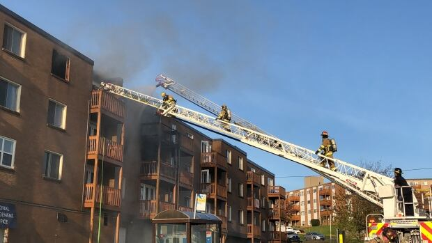 Dozens displaced by Dartmouth fire to be sheltered at local community centre