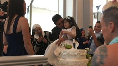 Royal wedding party brings 4-year-old's princess dreams to life