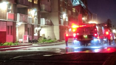 2 displaced by Carlington highrise fire | CBC