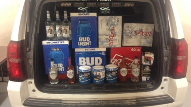 Quebec man, 69, busted entering Newfoundland with 'large amount' of alcohol, tobacco