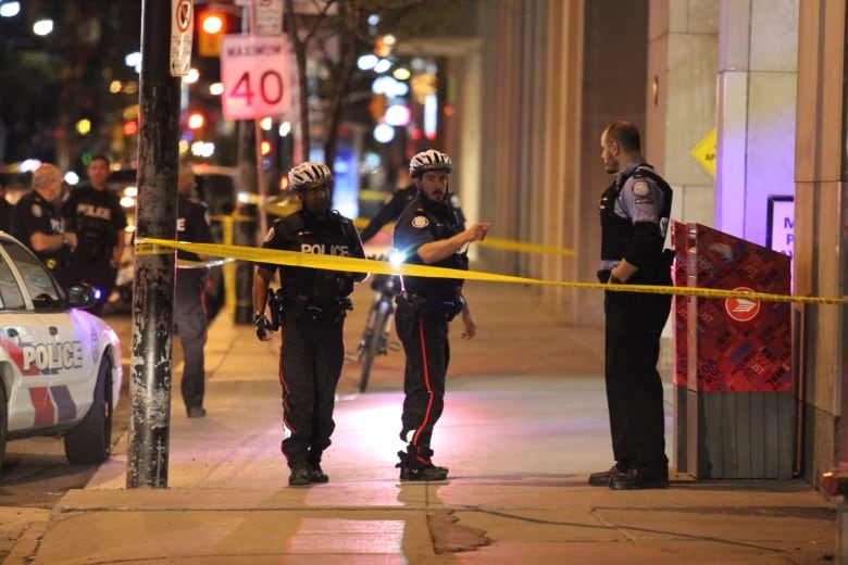 Police ID 28-year-old shot to death near financial district