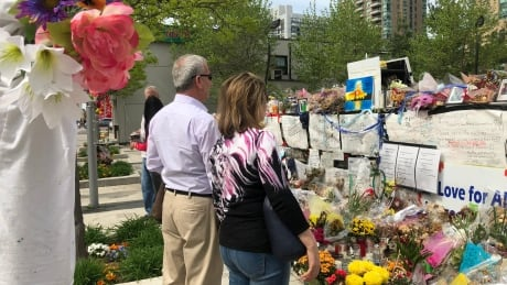 1 month after Toronto van attack, 'scars are very deep' but healing continues
